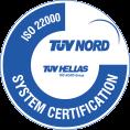 Certificate 22000 : 2005