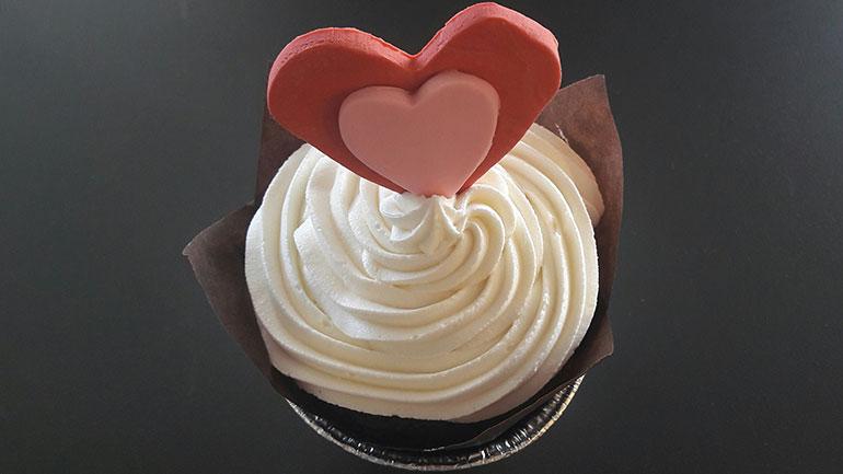 3. Cupcake Αγίου Βαλεντίνου